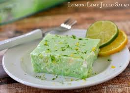 lemon lime jello salad a k a s green jello on timeout