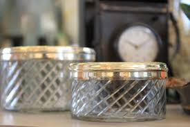 Bathroom Canisters Fab Finds For The Bath Burlap And Crystal Make Every Day An Event