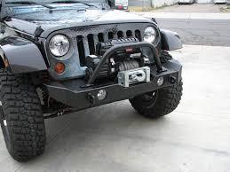 jeep bumper garvin g2 series front bumper 07 11 jeep wrangler jk mid width