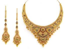 wedding necklace designs the images of gold bridal necklace designs hijabiworld