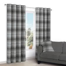 Grey Plaid Curtains Curtain Grey Plaid Curtains Curtain Gray Buffalo Primitive
