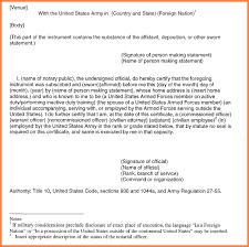 7 sworn statement example letter statement synonym