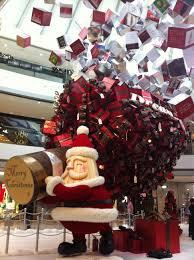 impressive christmas decorations inside hong kong u0027s ifc mall maosuit