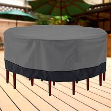 Patio Furniture Covers Amazon - amazon com outdoor patio furniture table and chairs cover 94