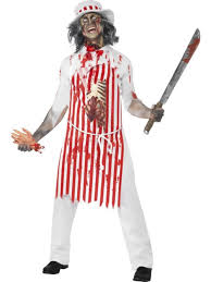 bloody butcher halloween costume all mens halloween costumes