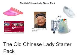 Chinese Lady Meme - 25 best memes about chinese lady starter pack chinese lady