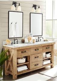 Corner Bathroom Sink Cabinets by 25 Best Open Bathroom Vanity Ideas On Pinterest Farmhouse