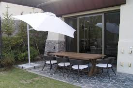 Windproof Patio Umbrella Commercial Patio Umbrella Metal Swiveling Wind Resistant Within