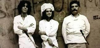 anthony bourdain on kitchen knives anthony bourdain fellow kitchen staff provincetown massachusetts