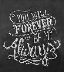 chalkboard wedding sayings yes you will jojo soulmate