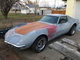corvette project for sale 1968 corvette project car barn find for sale photos technical