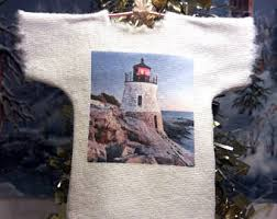 harbor ornament lighthouse tree ornament