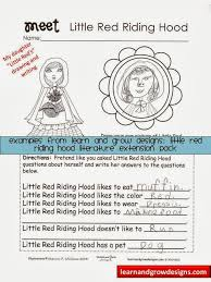 learn grow designs website red riding hood drawing