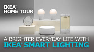 easy home automation with smart lights ikea home tour youtube