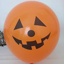 15 assorted halloween balloons 23cm halloween trick or treat