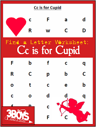 find the letter c is for cupid u2013 3 boys and a dog