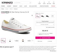sarenza siege social e commerce fiches produits chaussures quelles sont les