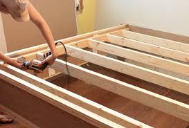 How To Build A Sofa Frame How To Build A High Bed Frame Home Design Ideas