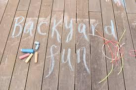 create a backyard oasis of childhood fun