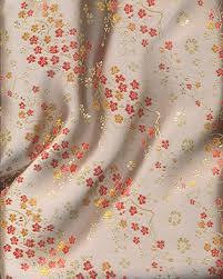 Cherry Blossom Upholstery Fabric Chinese Brocade Fabric