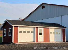 backyard garage garages large storage multi car garages backyard unlimited