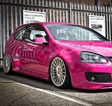 volkswagen harlequin interior pink vw golf a driving this would be so cars