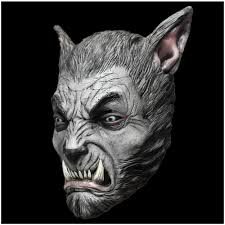Werewolf Mask Silver Beast Werewolf Mask Ghoulish Productions Mad About Horror