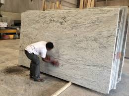 interior colonial white granite slab very suitable counter top