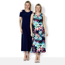maxi dresses qvc uk