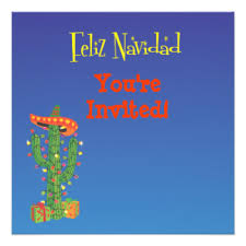 mexican christmas cards invitations greeting u0026 photo cards zazzle