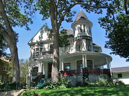 house with tower victorian house with tower and curved veranda dubuque io flickr