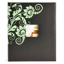 400 pocket photo album 2up 400 pocket floral frame front album