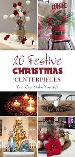 table christmas centerpieces festive christmas centerpieces you can make yourself
