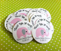 elephant stickers for baby shower or birthday