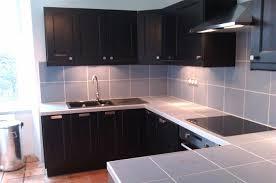 plan de travail carrelé cuisine refaire plan de travail cuisine carrelage maison design bahbe com