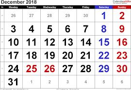 calendar december 2018 uk bank holidays excel pdf word templates