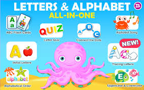 preschool all in one learning a to z letters and alphabet