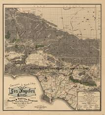 Los Angeles Map Poster by Welcome To Historynyc Historical Maps Poster Books And Custom