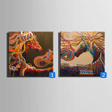 online get cheap abstract horse paintings aliexpress com