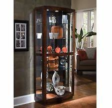 Corner Display Cabinet With Storage Corner Curio Cabinet Glass Lighted Wood Display Case Storage China