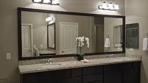Vanity Bathroom Mirror Bathroom Mirrors Bath The Home Depot Inside Mirror Vanity Plan 1