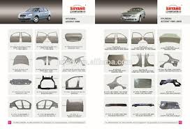 hyundai accent 2000 parts hyundai accent 1995 2000 metal parts front car door for sale