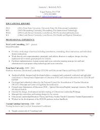 Professor Resume Assistant Professor Resume Sample