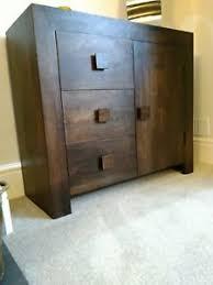 Asda Filing Cabinet Goa Dark Mango Sideboard Asda Ebay