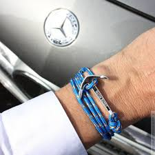 bracelet with anchor images Aegean anchor bracelet myshop4men jpg