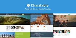 charitable responsive nonprofit charity joomla template by