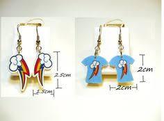 my pony earrings my pony rainbow dash front and back earrings earrings