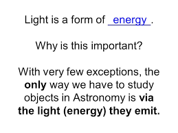 is light a form of energy blackbody radiation and spectra light is a form of why is