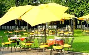 Paint Patio Umbrella Ideas Yellow Patio Umbrella Or Sted Concrete Patio On Patio