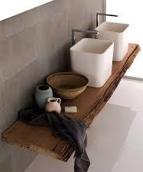 holz in badezimmer archaischer waschtisch matteo thun bild 3 schöner wohnen